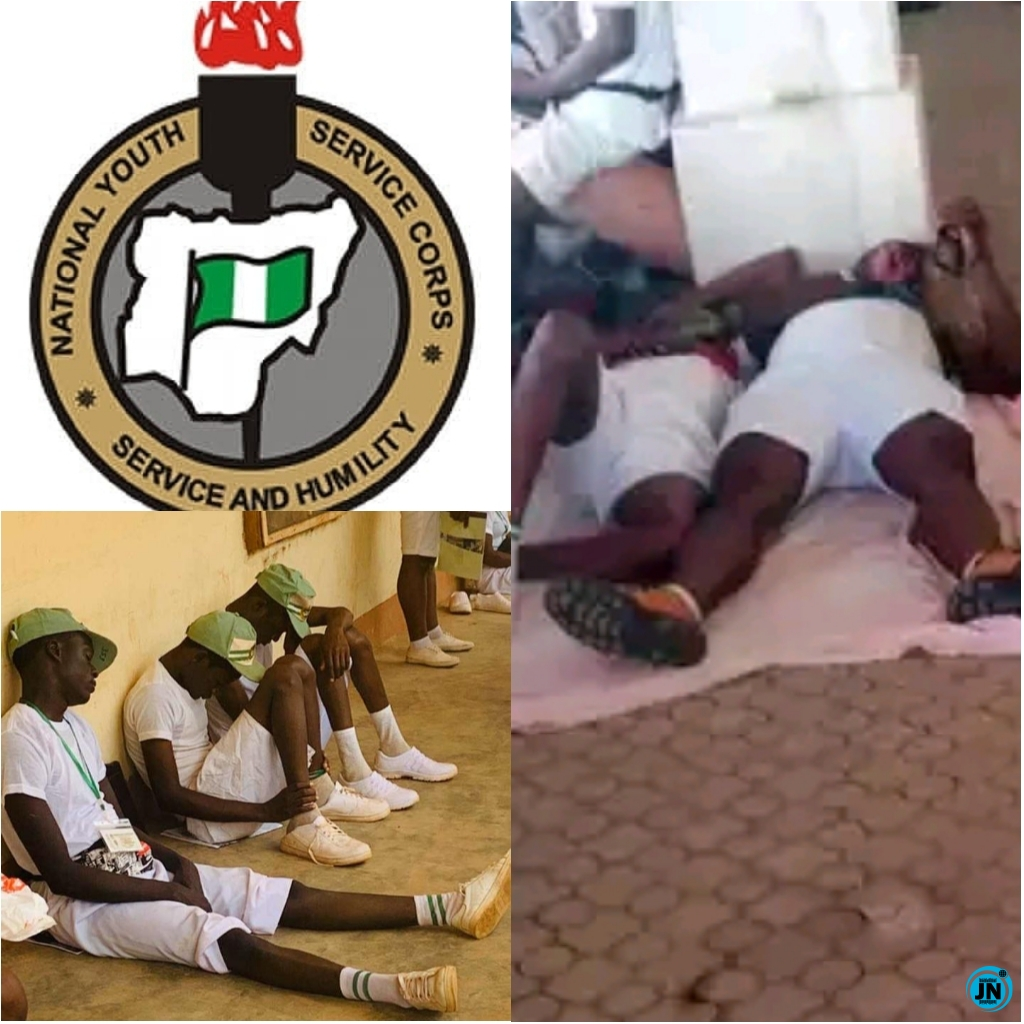 BREAKING: See Ondo State NYSC Corp Members Caught doing Quickie - Shocking!!!